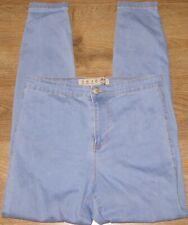 ✿Ladies DENIM_CO light blue stretch skinny high waist jeggings size 12✿