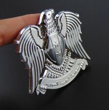 For Universal Car 3D Eagle Emblem Badge Metal Decoration Silver new silver