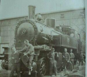 Altes Foto/Eisenbahn/Dampflok 7345