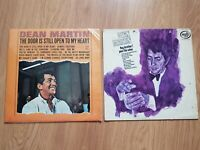 "Dean Martin LP Bundle X2. Hey brother! pour the wine - 12"" vinyl"