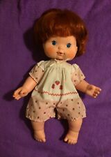 Strawberry Shortcake Herself Blow Kiss Baby Doll 1982 Vintage