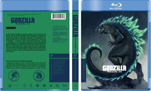 Godzilla Tristar-Era 1998 - Custom Blu-ray Cover W/ Empty Case (No Discs)