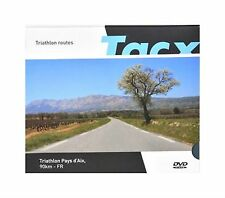 New Tacx Real Life Video Training DVD Triathlon Pays d'Aix 90km France