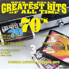 Rock-N-Roll's Greatest Hits of All Time: 70s, Vol. 3 by Various Artists (CD, Fe…