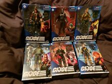 HASBRO G.I. JOE CLASSIFIED LOT 7  Destro COBRA COMMANDER GUNG HO+ SEALED NEW!!