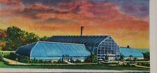VINTAGE AMERICAN POSTCARD, EDEN PARK CONSERVATORY, CINCINNATI, OHIO