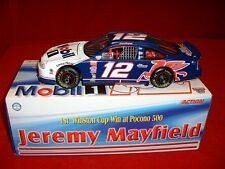 1998 Jeremy Mayfield 1:24 #12 Mobil 1 Action Racing Nascar diecast