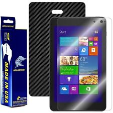 ArmorSuit MilitaryShield Dell Venue 8 Pro Screen Protector + Black Carbon Skin