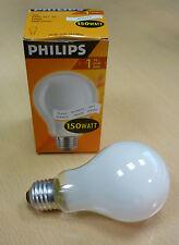 PHILIPS Glühlampe E27 150W A65 ø65mm Weiß für Luceplan,z.B.costanza 2000 Lumen!