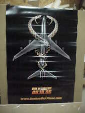 Snakes On A Plane, orig rolled advance D/S 1-S / movie poster [Samuel L Jackson]