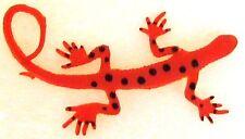 Gecko Toy Orange Growing Gecko to 600% it's original size of 4 to 20 inch
