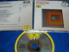 CD johann sebastian BACH ton koopman TOCCATA & FUGUE organ works 1984 SCHÜBLER