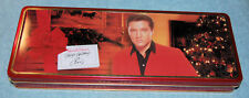 Elvis Presley Russell Stover Happy Holidays Candy Collector Tin Box