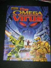 The Omega Virus Board Game Replacement Parts Instructions Directions ONLY