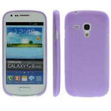 For Samsung S3 Mini /i8190 TPU Case/Cover/Bumper / Case / Color Purple