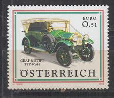 Österreich, postfrisch, **),ANK 2426, 27.9.2002, Autos, Oldtimer Gräf & Stift,