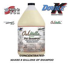 DoubleK Groomers Edge PET GROOMING PREMIUM OatMella OATMEAL SHAMPOO CONCENTRATE