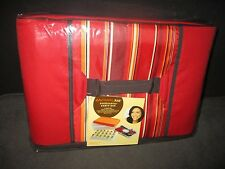 Rachael Ray Foodtastic Party Box Insulated Carrier Bag Deviled Egg Container