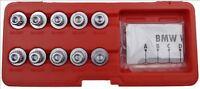 Tool Hub 9674 BMW Anti Theft Splined Locking Wheel Nut Set Kit - 10 Piece