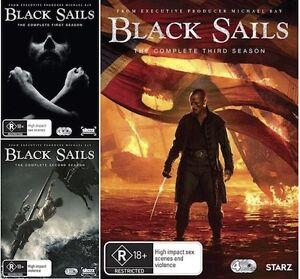 Black Sails : Seasons 1 2 3 : NEW DVD