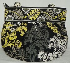 Vera Bradley Lg Size Double Handle Shoulder Bag Satchel Purse in Baroque Print