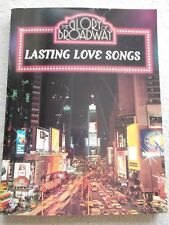 Glory Broadway 61 Love Songs Voice Piano Guitar Unused