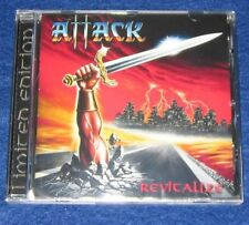 ATTACK - Revitalize (NEW*GER HEAVY METAL CLASSIC*OFFICIAL RERELEASE)