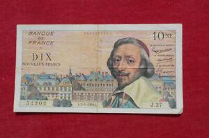 10 Nouveaux Francs Richelieu du 2-7-1959  !