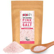 Pipkin 500g FINE Pink Himalayan Salt 100% Natural Unrefined Pure Food Grade