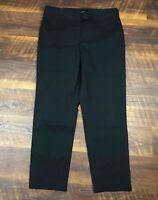 Talbots Heritage Black Slim Ankle size 10 Career Women's Casual Dress Pants