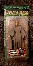 Lord Of The Rings Fellowship of the Ring King Council Legolas Figure Toy Biz NEW
