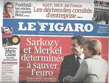LE FIGARO N°20640 10/12/2010 ECONOMIE FRANCO-ALLEMANDE/ BULGARI/ L.BLANC/ SERIES
