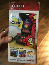 """ION iCade Jr. Arcade Gaming for iPhone or iPod Touch 7"""" Bluetooth Mini Arcade"""