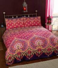 """Asha "",Ruby, Single Duvet Set,easycare ""Made with Spirit"" by Rapport"