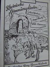 Rheinische Stimmungslieder (Georg Bauer Verlag) Posaune 3 in B