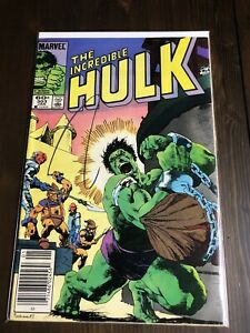 The Incredible Hulk Comic #303 Marvel Comics  Jan 1985 Mantlo Buscema 1st Print
