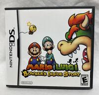 Case Only- Mario & Luigi Bowser's Inside Story  (Nintendo DS, 2009) No Game
