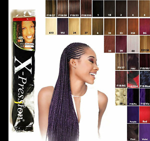 XPRESSION ULTRA HAIR FOR BRAIDING, EXPRESSION KANEKALON ORIGINAL HOT WATER SET