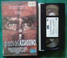 VHS FILM Ita Thriller GLI OCCHI DELL'ASSASSINO cic ex nolo no dvd (VH67)