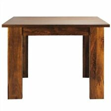 Square Solid Wood Contemporary Tables