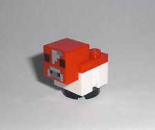 LEGO Minecraft - Baby Pilzkuh / Mooshroom - Figur Minifig Kalb Kuh Cow 21129