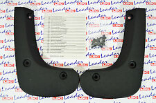 GENUINE Vauxhall ASTRA H - FRONT MUDFLAPS / SPLASH GUARDS KIT - NEW - 93183628