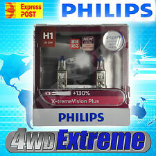 GENUINE PHILIPS +130% H1 XTREME VISION PLUS PAIR OF GLOBES 12V 55W 12258XVPS2