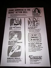 The Bionic Woman Vintage Instructions