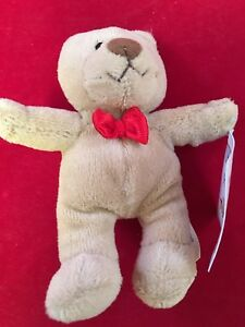 Toys R Us Hughbert Teddy Bear Plush with tag McDonald's Animal Alley