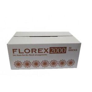 Florex Florist Flower Dry Foam Bricks For Dry And Artificial Floral Arrangements
