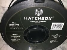 HATCHBOX PLA 3D Printer Filament, Dimensional Accuracy +/- 0.03 mm, 1 kg Spool