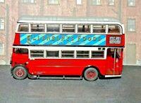 EFE - REF.NO.27702A AEC STL LONDON TRANSPORT CENTRAL AREA RED RTE:8A (LTM)