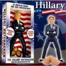 Hillary Clinton Stainless Steel Nutcracker