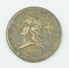 1793 Liberty Cap Half Cent Facing Left